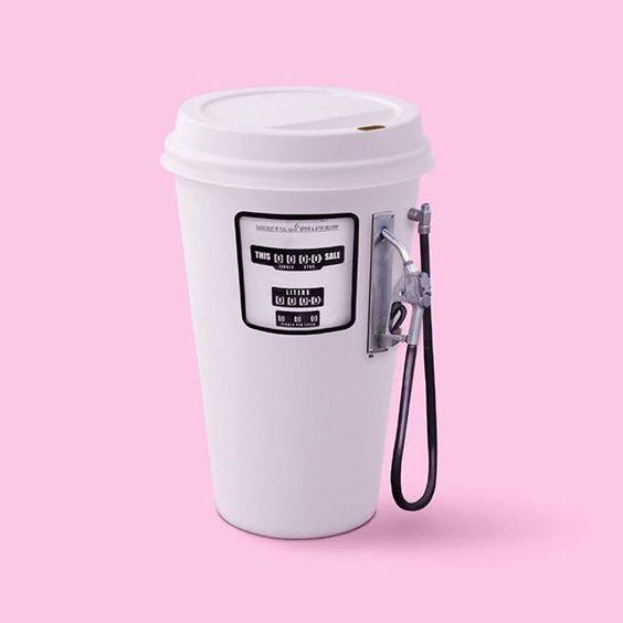 Every PR girl drinks coffee