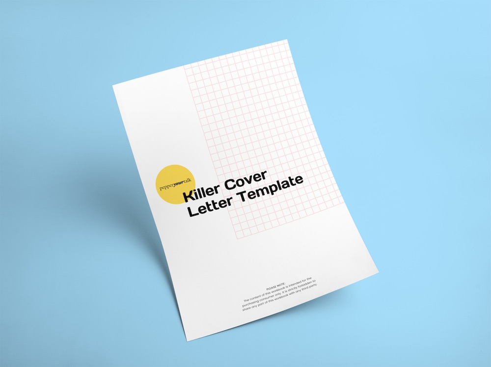 killer cover letter template